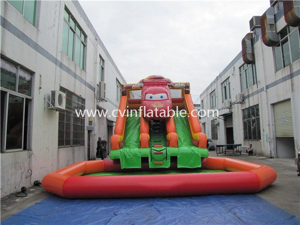 inflatable water slide with pool (22)