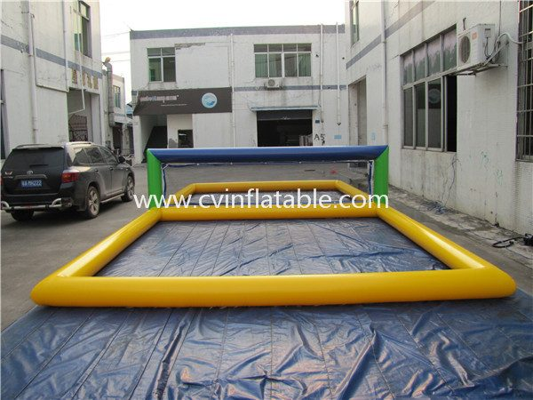 inflatable water volleyball court