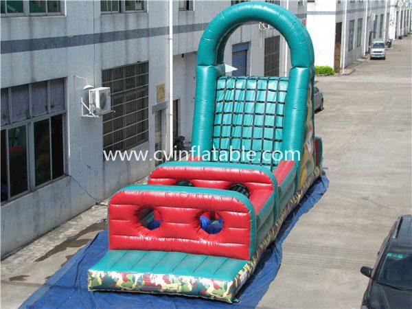 inflatable zipline sport game