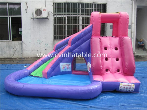 small inflatable water slide (2)