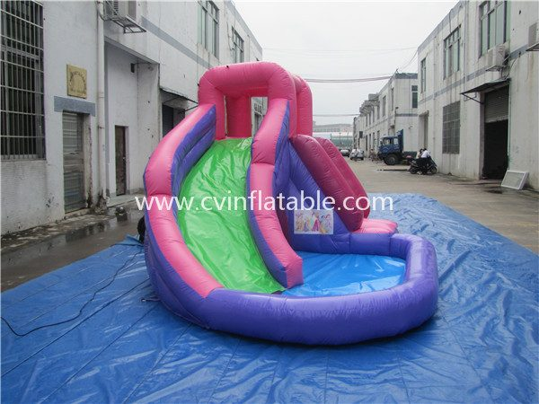small inflatable water slide (3)