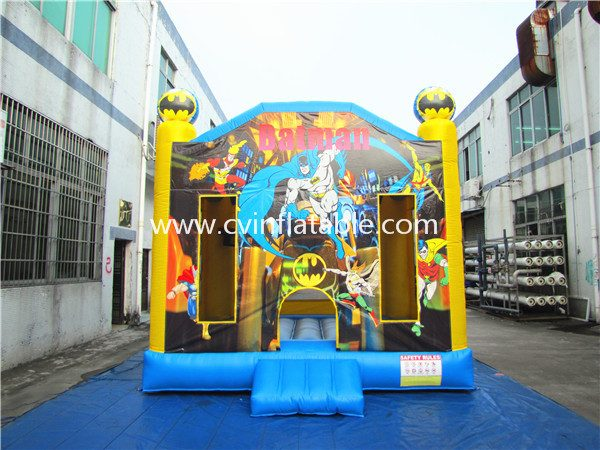 inflatable batman bouncer