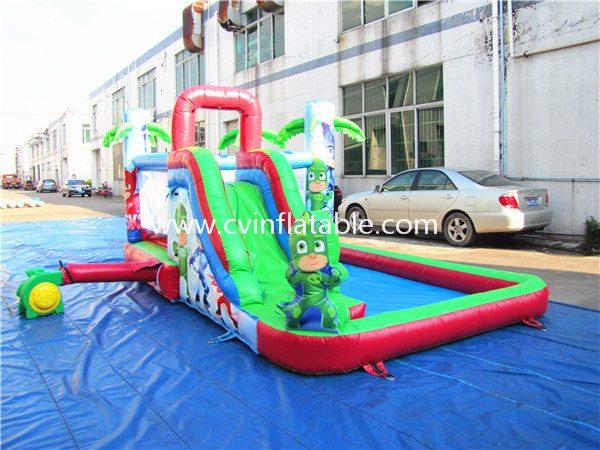 inflatable bouncer slide (2)