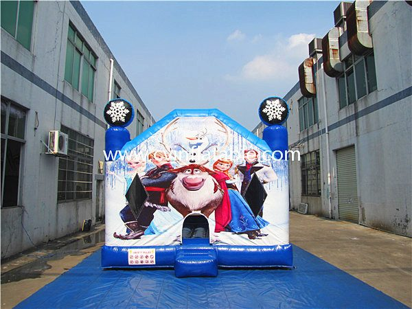 inflatable bouncer with printing