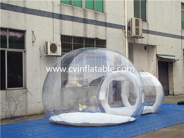 inflatable bubble tent (2)