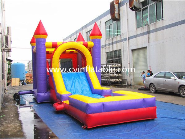 inflatable castle combo (2)