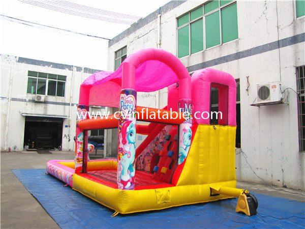 inflatable combo slide (3)