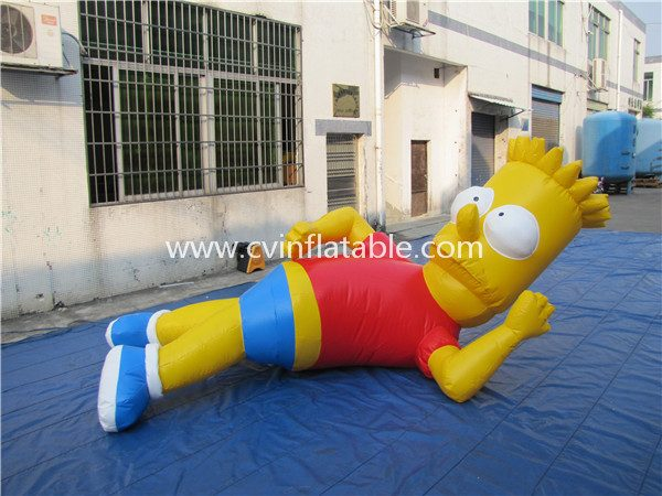 inflatable model