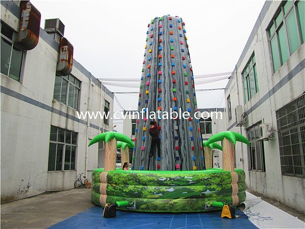 inflatable mountain climbing