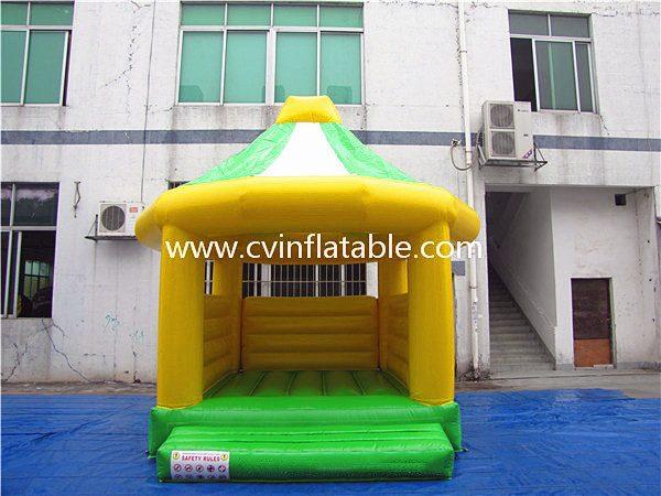 inflatable mushroom bouncer