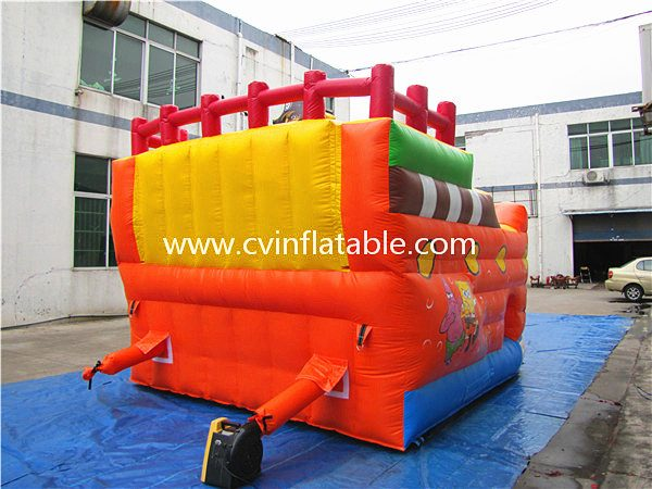inflatable pirate ship slide (3)