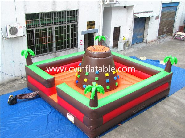 inflatable volcano