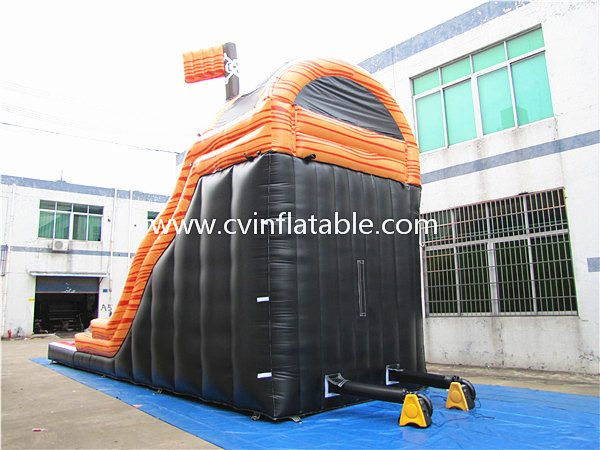 inflatable water slide with pool (8)