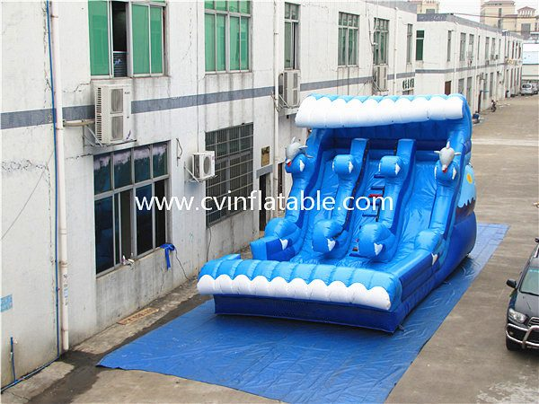 inflatable wave slide (5)