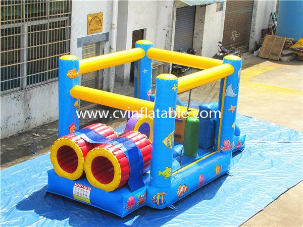 small inflatable bouncer