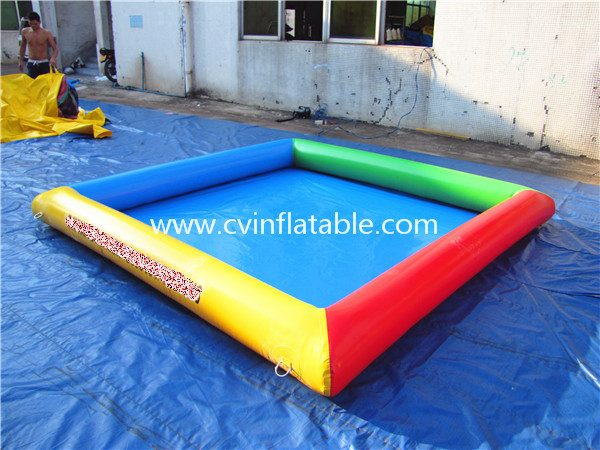 small inflatable water pool