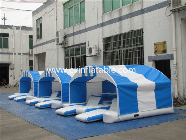 inflatable water floating island (2)